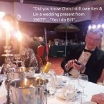 Do you know Chris - I still owe Ken & Lin a wedding present...say Billy