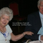 Don and Barbara Thake - still going strong