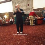 Nice trainers Ron