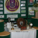 Prize and award table