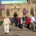 a5  Leicester - anyone seen an ashtray...